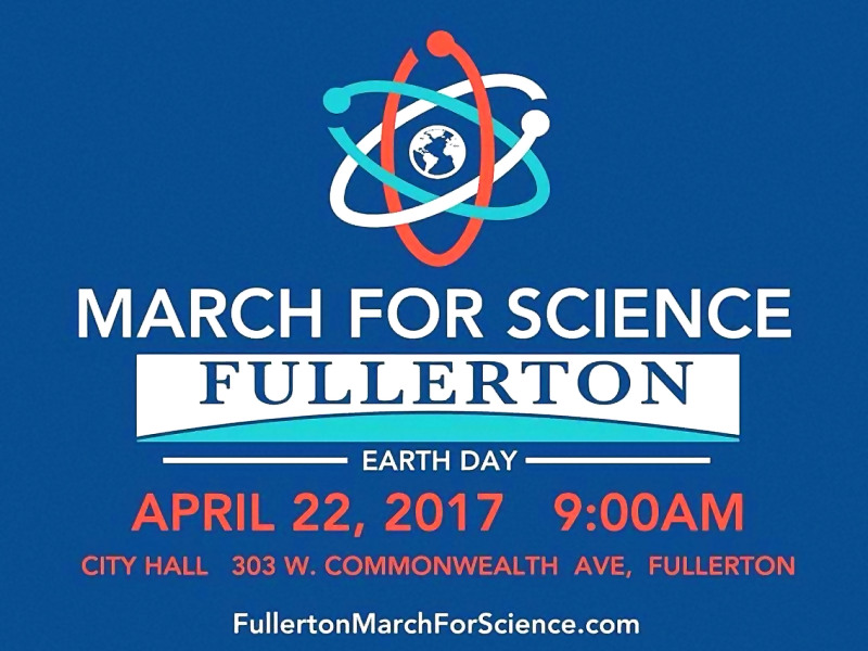 March For Science in Fullerton