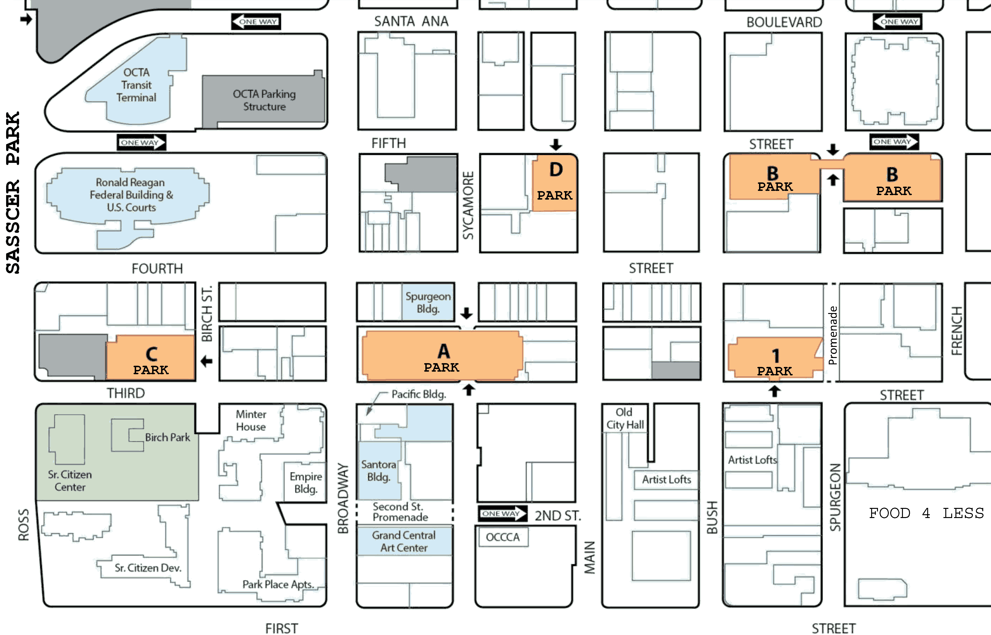 Parking for Scer Park, Santa Ana, CA - INDIVISIBLE CA39 on map of downtown fremont, map of downtown california, map of downtown summerlin, map of sw bakersfield ca, map of downtown oakland ca, map of downtown el segundo, map of downtown oceanside, map of downtown del mar, map of downtown las vegas strip, map of downtown cabo san lucas, map of downtown san luis obispo, map of downtown cambria ca, map of downtown seaside, map of eastside, map of santa ana ca, map of santa ana winds, map of santa ana college, map of downtown san clemente, map of downtown florida, map of downtown san juan capistrano,